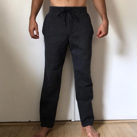 4be7190d9e Lululemon Men's dark gray sweatpants- like new
